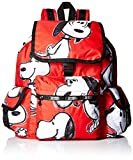 LeSportsac スヌーピー LeSportsac X Peanuts Voyager Back pack, Snoopy Toss Red [並行輸入品]