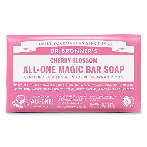 ドクターブロナー マジックソープバー magic soap 石鹸 チェリーブロッサム 140g ネイチャーズウェイ