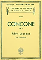 Fifty Lessons for the Low Voice