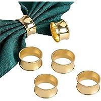 メイハウス 円形のナプキンリング (6個入り) Gold/Silver ゴールド/シルバー (ゴールド)