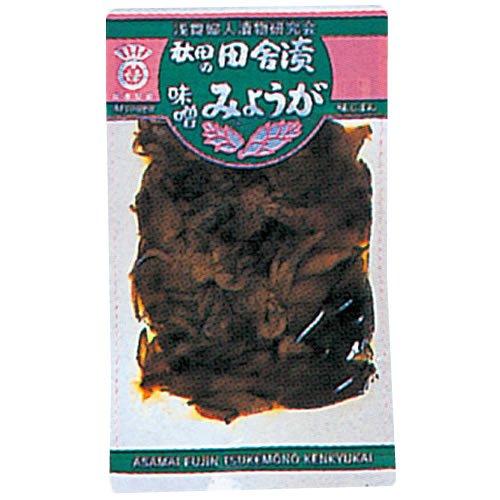 秋田の田舎漬 味噌みょうが 袋120g