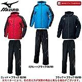 MIZUNO(ミズノ) メンズ ブレスサーモ ウォーマー 上下セット (32ME5532/32MF5531) (ブラック×ブラック(09/99), XL)
