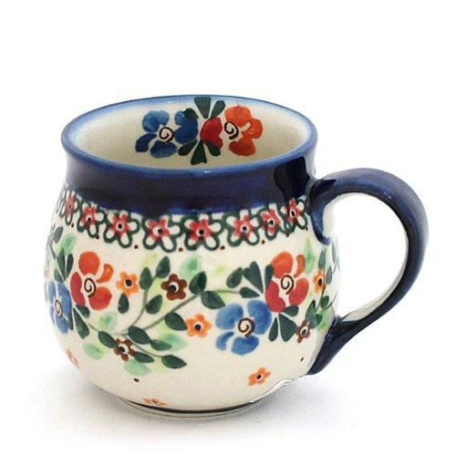 RoomClip商品情報 - ポーリッシュポタリー/マグカップ 0.2L Ceramika Millena 1-16-b1