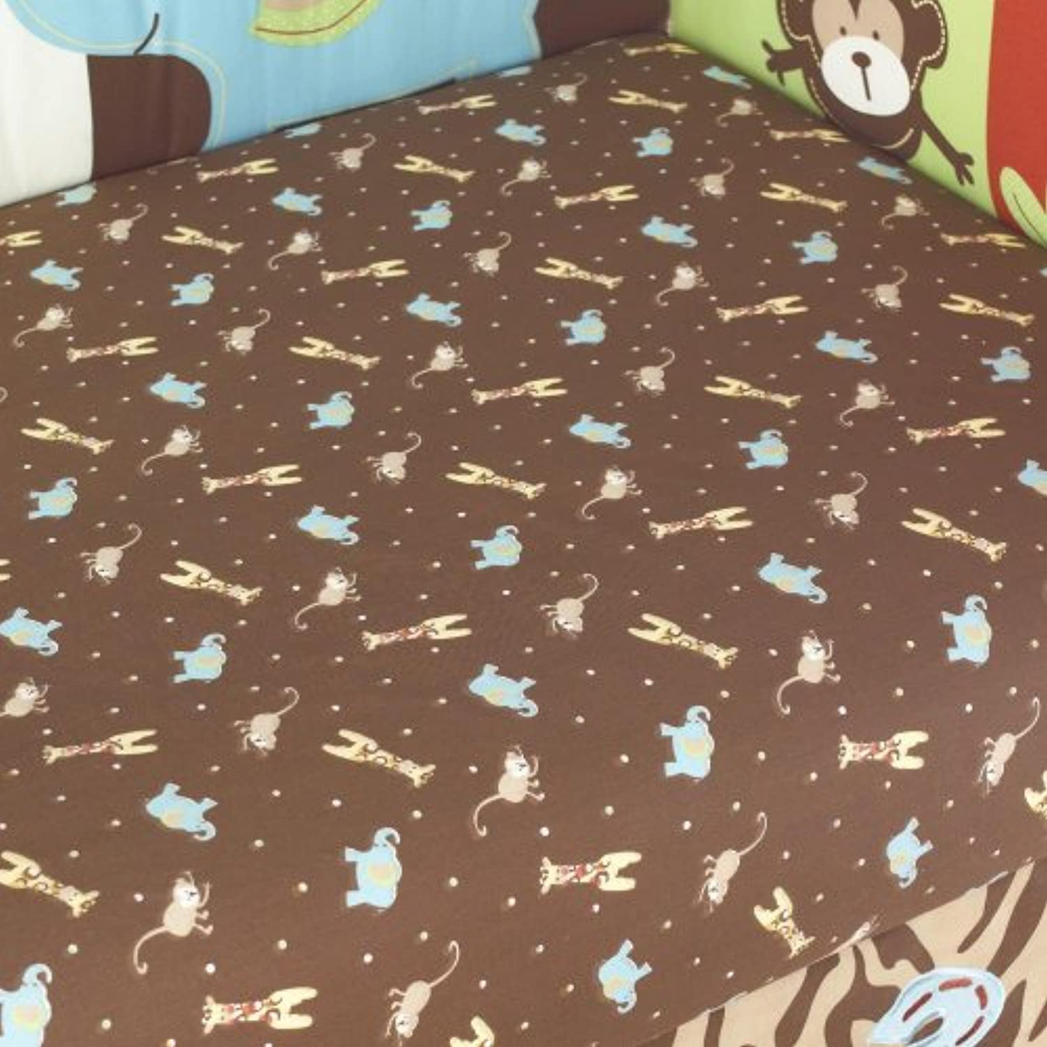 Zoo Zoo Fitted Sheet by Too Good by Jenny by Pem America