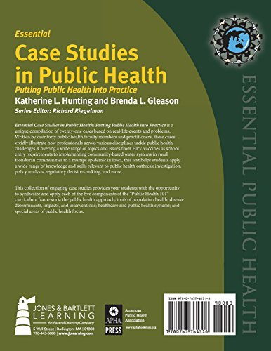 global health case studies The case studies address issues that affect the global systems of land, air, water and life - the focus of the emerging field of planetary health - and promote a one health approach to solving problems that affect humans, animals and the environment.