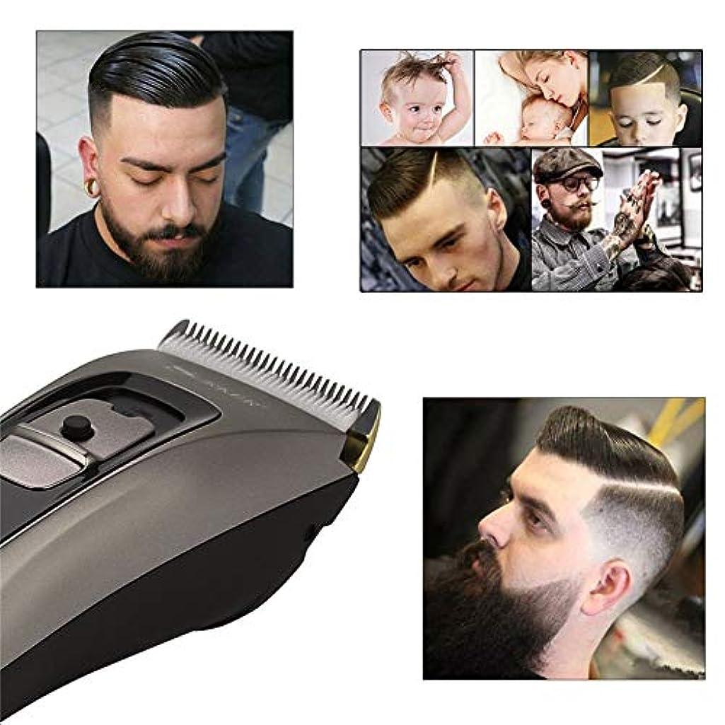 WTYD 美容ヘアツール セラミックチタン合金ブレードヘアトリマークリッパーusb充電式電気かみそりひげ剃りトリマー付きledデジタルディスプレイeu