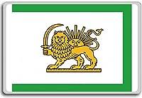 State Flag (1785-1925), Early Qajar Dynasty, Historic flags of Iran fridge magnet - 蜀キ阡オ蠎ォ逕ィ繝槭げ繝阪ャ繝