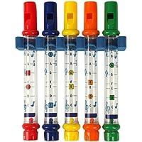 ゴシレ Gosear 楽しいホイッスル音楽シャワーおもちゃ子供子供カラフルな水笛浴槽の曲初期の教育玩具