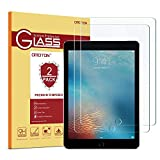 OMOTON [2 Pack] Screen Protector for iPad 9.7 inch 6th and 5th Generation/iPad Pro 9.7 / iPad Air 2 / iPad Air (9.7 Inch)- Tempered Glass/Apple Pencil Compatible/Anti-Scratch