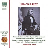 Complete Piano Music 1 by LISZT (1997-06-10)