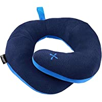BCOZZY Chin Supporting Travel Neck Pillow - Supports The Head, Neck and Chin in Maximum Comfort in Any Sitting Position. A Patented Product