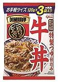 江崎グリコ DONBRI亭牛丼 120g 3食