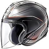 アライ (ARAI) ジェットヘルメット VZ-RAM (VZ-ラム) ウエッヂ (WEDGE) ダークグレー 61-62cm VZ-RAM_WEDGE_DGY61