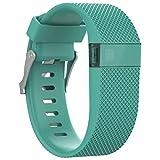 adidas テニス For Fitbit Charge HR S、ikevan最新交換用リストバンドバンド交換用シリコンバンドストラップリストバンドブレスレットfor Fitbit Charge HR マルチカラー