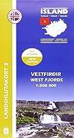IRK 03 Vestfirdir / Westfjorde Regionalkarte 1 : 200 000