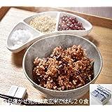 レンジ対応!3日寝かせ 発芽酵素玄米ごはん 20食 冷凍