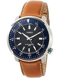[ワイアード]WIRED 腕時計 WIRED SOLIDITY  逆回転防止ベゼル 限定モデル800本 20気圧防水 AGAJ701 メンズ