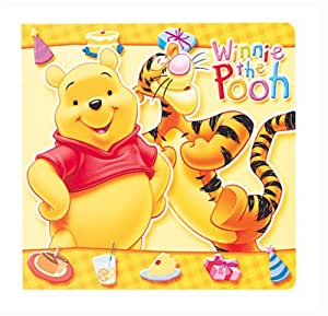 FUJICOLOR アルバム ポケット ディズニー CD・DVDアルバム20 くまのプーサン [ 20枚収納 ] CD/DVD 1~20枚 キャラクター イエロー 7815