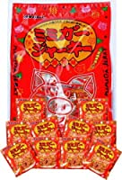 ミミガージャーキー パーティーパック 小袋10袋入り×5袋 オキハム コリコリ食感の豚耳皮を赤唐辛子でピリ辛に仕上げたミミガー珍味 沖縄土産におすすめな小分けパック