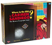 Where in the USA is Carmen Sandiego? (Board Game) by University Games [並行輸入品]