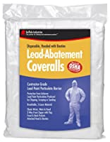 Buffalo Industries 68441 Large Disposable Lead Abatement Coveralls