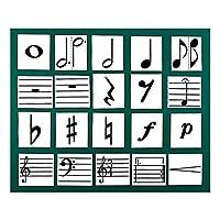 全音 ZOK-9 楽譜記号マグネットカード 黒板表示用教材