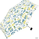 ワールドパーティー(Wpc.) ディズニー雨傘 折りたたみ傘 白 50cm レディース ポーチタイプ ミッキーマウス/サーフミニ DS065-179 OF