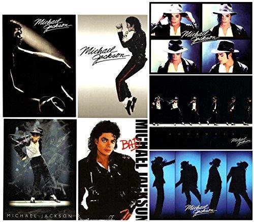 マイケル ジャクソン Michael Jackson  公式 ポストカード 7枚セット 並行輸入品