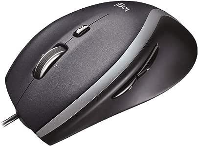 ロジクール 有線 マウス M500t 高速スクロールホイール 7ボタン USB ブラック 国内正規品 3年間無償保証