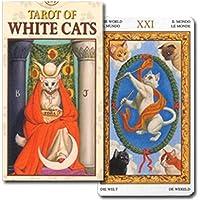 【猫好きに贈る猫づくしのタロットカード!】ミニチュア?ホワイトキャッツ?タロット