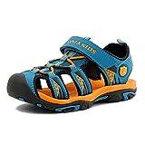 サンダル 子供 スポーツサンダル キッズ マジックテープ付き 男の子 女の子 サンダル アウトドア 夏用の運動靴 スニーカー