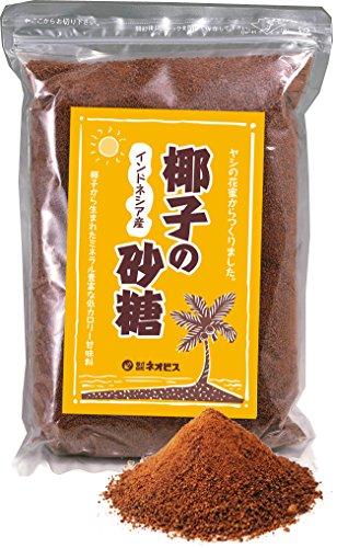無添加ココナッツシュガー【ヤシの砂糖・低GIダイエットスイーツレシピ5品目付き】自然の甘みを煮詰めると体にとっても優しいお砂糖ができました!低カロリー・無添加でヤシの花序の蜜だけ使用。※リン60.2�r、鉄2.13�r、カルシウム17.3�r、ナトリウム9.2�r