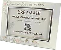 65th Birthday Gift Photo Frame sweet pea (land)