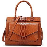 Handbag-Bag for Women,High Capacity New Snake Pattern Tote, Simple and Atmospheric Fashion Ladies Bags, Messenger Bags/Shoulder Bags