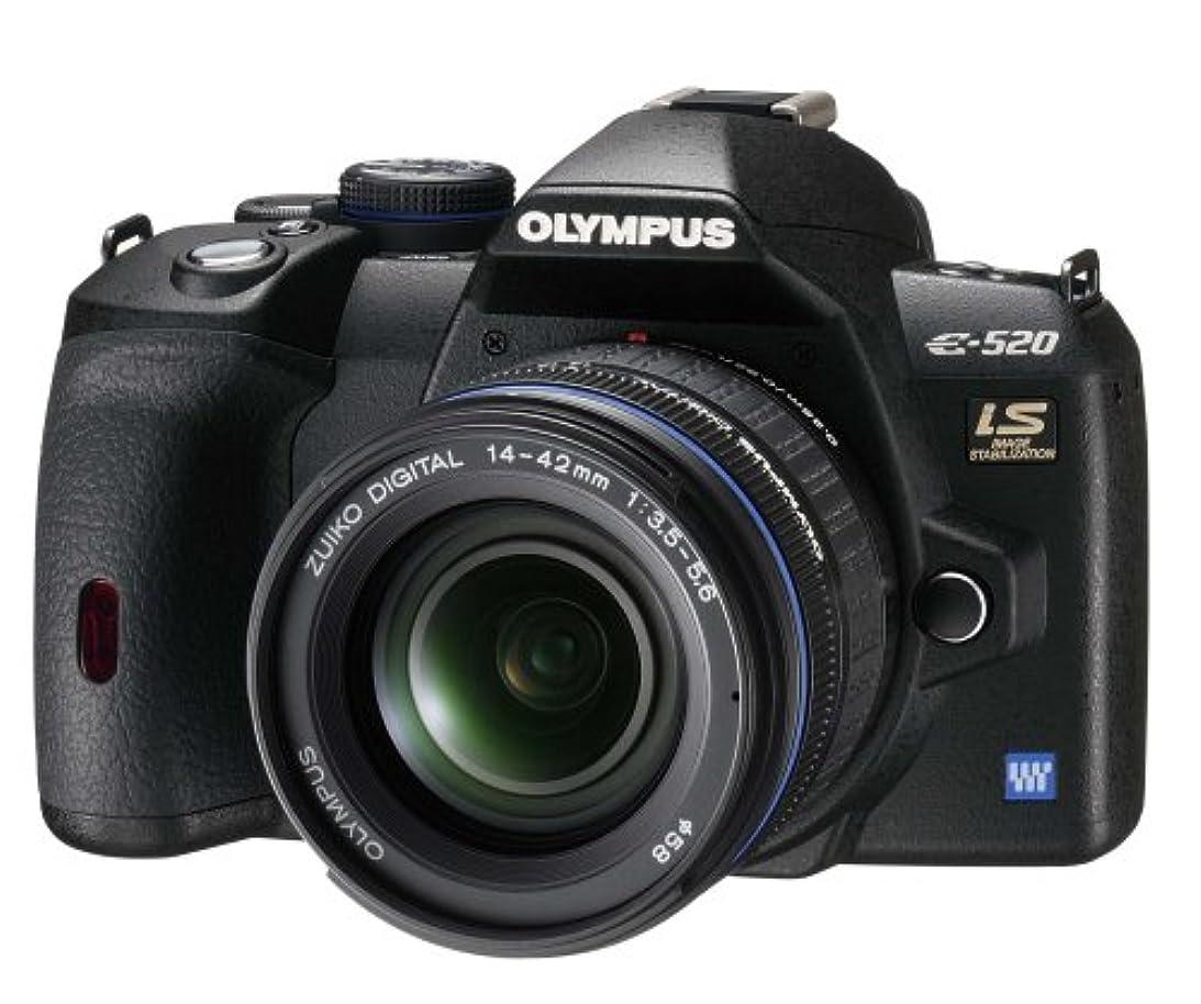 薬局放送池OLYMPUS デジタル一眼レフカメラ E-520 レンズキット E-520KIT