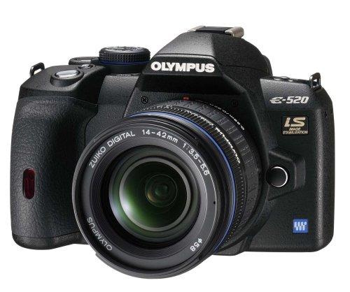 OLYMPUS デジタル一眼レフカメラ E-520 レンズキット E-520KIT