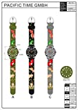 [チックタック] TICKTOCK キッズ腕時計 クオーツ アナログ表示 子供 ガールズ ボーイズ 恐竜 ウォッチ