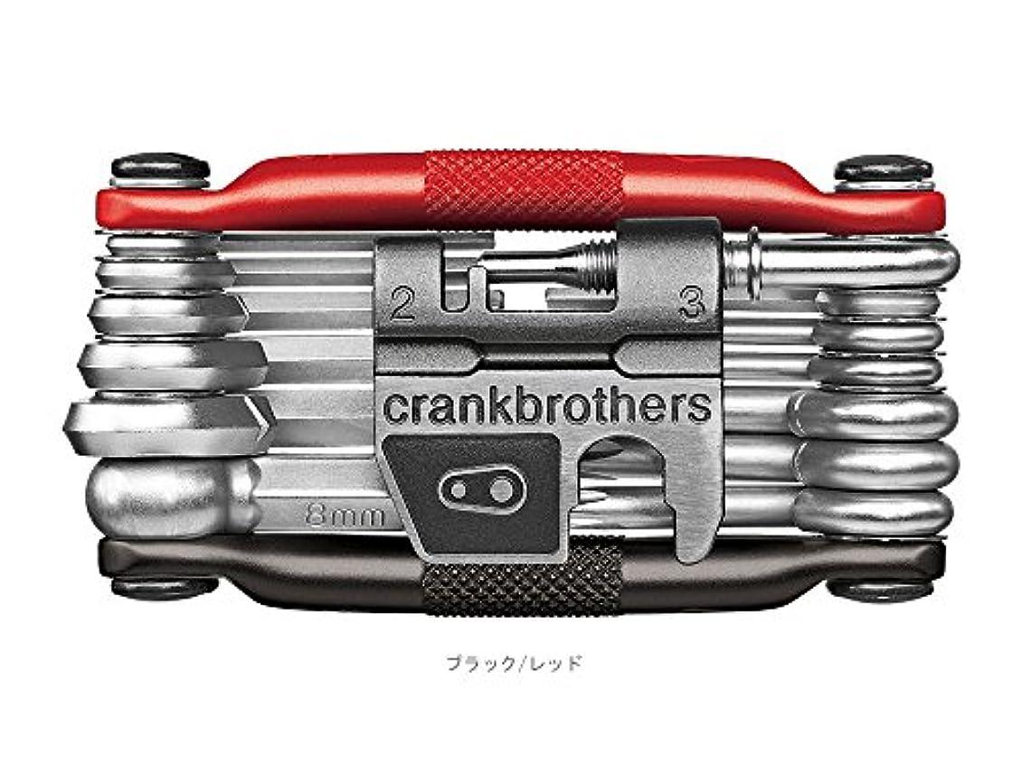 バーゲンピアノ短くするCRANKBROTHERS(クランクブラザーズ) M19 (マルチ19) 携帯ツール ブラック/レッド