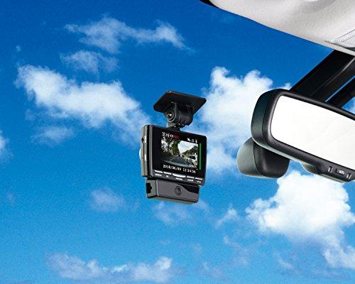 コムテック ドライブレコーダー HDR-951GW 2カメ安全運転支援 200万画素 Full HD 日本製&3年保証 常時録画 衝撃録画 GPS レーダー探知機連携 補償サービス2万円 HDR-951GW
