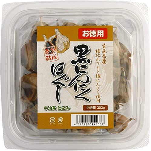 [創健社] 熟成発酵 黒にんにく (ほぐしタイプ/お徳用) 303g×2 /青森県産にんにく使用