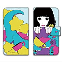 hare. AQUOS mini SH-M03 ケース 手帳型 プリント手帳 星D (hr-024) カード収納 スタンド機能 WN-LC040243-M