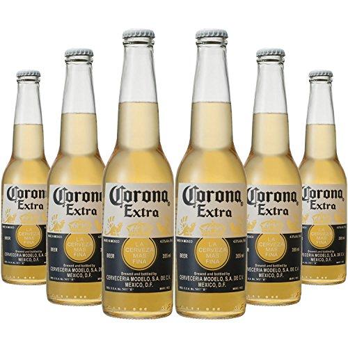 ビール コロナ・エキストラ ボトル 355ml×6本