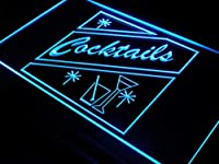 OPEN Cocktails Bar Pub Club LED Sign LED看板 ネオンプレート サイン 標識 Display i191-b(c)