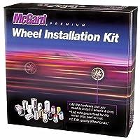 McGard 65815 SplineDrive Chrome (M14 x 1.5 Thread Size) Wheel Installation Kit for 8-Lug Wheels [並行輸入品]