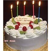 誕生日ケーキ/バースデーケーキ(プレート付)生クリームケーキ6号(苺