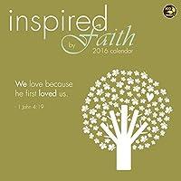 Inspired by Faith Wall Calendar by TF Publishing 2016 [並行輸入品]