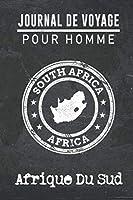 Journal de Voyage pour homme Afrique Du Sud: 6x9 Carnet de voyage I Journal de voyage avec instructions, Checklists et Bucketlists, cadeau parfait pour votre séjour à Afrique Du Sud et pour chaque voyageur.