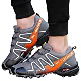 OUTDOOR PRODUCTS (US:10, Gray) - Kinrui Men's Running Shoes Sports Trail Trekking Athletic Outdoor Hiking Sneakers