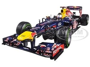Red Bull Racing Renault RB8 Sebastian Vettel Brazil GP 2012 World Champion 1/18 Diecast Model Car by Minichamps サイズ : 1/18 [並行輸入品]