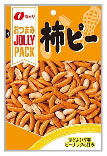 なとり ジョリーパック柿ピー 100g ×10袋